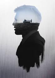 True Detective 'Hart' Character Poster by Circusbrendan