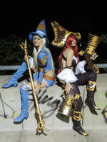 Miss Fortune and luxxana by neliiell