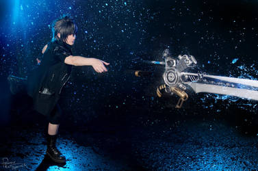 Final Fantasy XV - Noctis - Throw of death by Krisild