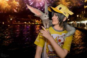 Final Fantasy XV - Noctis - Chocobo firework 3 by Krisild