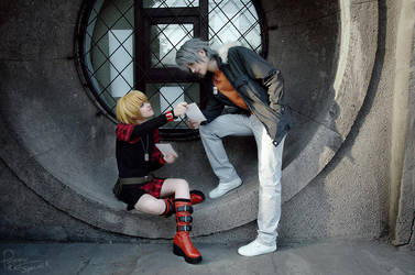 Togainu no Chi - Rin and Akira - Photos by Krisild