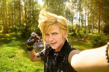 Final Fantasy XV - Prompto - Selfie by Krisild