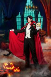 Dramatical Murder - Koujaku - Happy Halloween! by Krisild