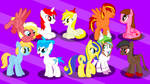 50+Watchers WP Special-Too many friends? ...NAH!! by MLP-Element