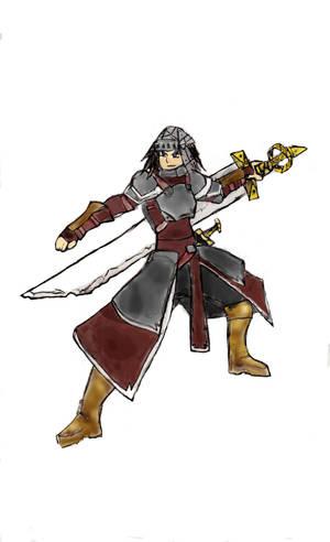 Color Boom - The Sword Wielder by ninja1361