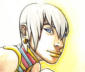 Street Fighter Elena fan art 2 by Hannah-Hayashi