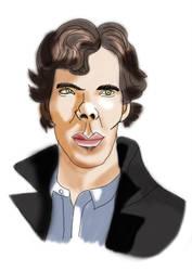 Benedict Cumberbatch by Patuco