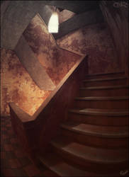 Stairs Lamp by Cerebrate