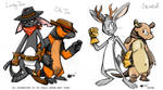 The Jackalope- Cast Line-Up by anniemae04