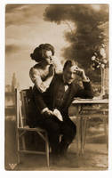 vintage - couple 3 by Meltys-stock