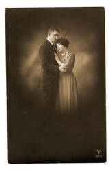 vintage - couple 4 by Meltys-stock