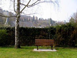 Luxembourg's garden 3 by Meltys-stock