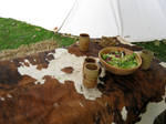 medieval table by Meltys-stock