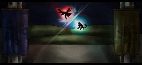 Royal Rumble- VS Tyradamant by SuperRara
