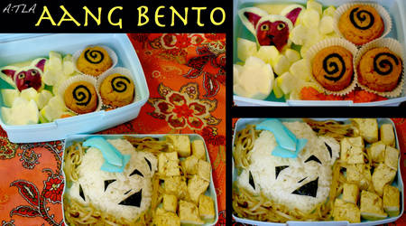 Aang Bento Box by mindfire3927