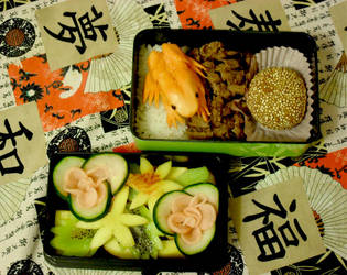 Tropical Frog Bento by mindfire3927