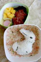 Bunny Bento by mindfire3927