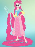 MLP:FiM Disney crossover Pinkie Pie by the-epicteer