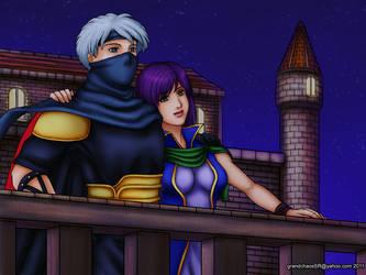 Commission - Edge X Faris 2 by grandchaosSR