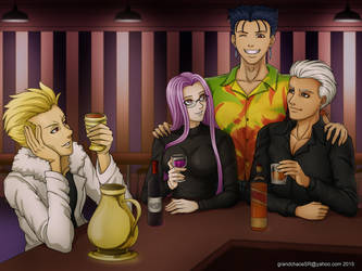 Commission Fate Stay Night by grandchaosSR