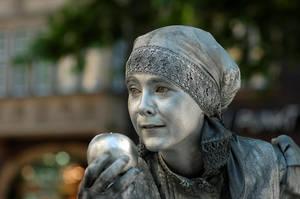 Silver Lady by karlomat