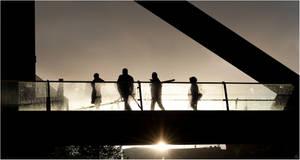 On a bridge by karlomat