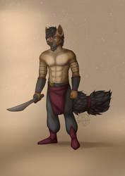 [ CHOONT ] Badass hyena by Marchef-Iustinianie
