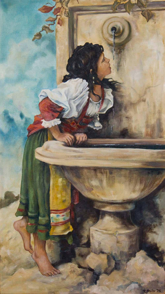 Roman Girl by Ciardubh