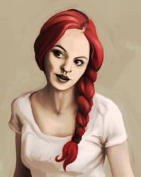 Red Braid by Ciardubh