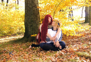 Love is in the air - Minato/Kushina by Stray-Cat-Yoru