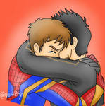 I dont feel so good (tony stark and peter parker) by wolvirry