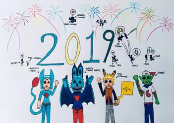 Happy New Year 2019! by LUNA1071996