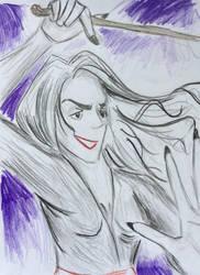 Bellatrix Black by chexie101