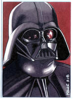 Darth Vader ACEO by Rathskeller7