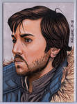 Cassian Andor ACEO by Rathskeller7