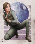 Jyn Erso by Rathskeller7