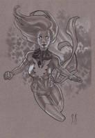 Phoenix Sketch NYCC 10 by StephaneRoux