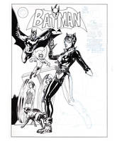 Batman cover recreation by StephaneRoux