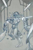 Jedi: the Dark Side cover 2 by StephaneRoux
