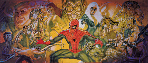 Spider-man Rogue Gallery 70' by StephaneRoux