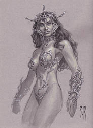 Dejah Thoris by StephaneRoux