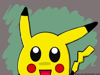 Pikachu - The Chibi Master by Shao-Pix