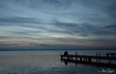 Tu y yo en la soledad... by abllogra