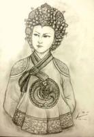 Hwang Aerye of Jima Dynasty by Gambargin