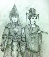 The Wu Twins of Hua Empire by Gambargin