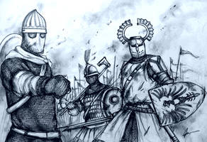 Historically Wrong Sketch Series - Project WARRGH by Gambargin