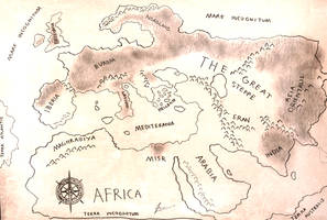 HWS Project Fantasia - The Epic Journey Map by Gambargin