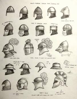 Project WARRGH - Medieval European Helmet part 1 by Gambargin