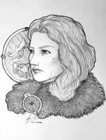 Fru Gunnhildr Freysdottir av Rogaland by Gambargin