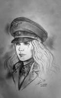 Gudrun Eisenhammer - AD 1942 Nazi Germany by Gambargin